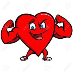 HEART 57935052-carácter-strong-heart