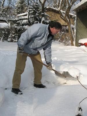 cold shoveling-snow