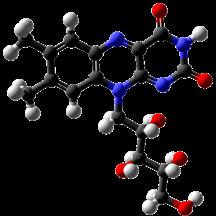 B2 Riboflavin-3d-balls